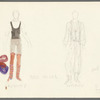 Dancin': Costume sketches for Crunchy (Ross Miles), 11