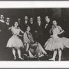 Group shot with Ida Rubinstein, no. 8