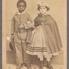 Isaac and Rosa, emancipated slave children