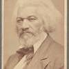Studio portrait of Frederick Douglass
