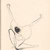 Ida Rubinstein drawing, [Pl. 12]