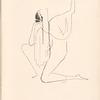 Ida Rubinstein drawing, [Pl. 6]