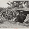 Dugout for food storage built by rehabilitation client. Cherokee County, Kansas