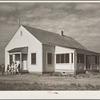 Community hall. Falls City Farmsteads, Nebraska
