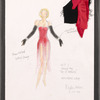 """Dancin' With Gershwin: Costume sketch for Act I, Dance #4 """"Do It Again"""" (Allison Jay)"""
