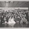 José Limón in group shot with dance school in Korea