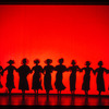 Crazy for You: original Broadway production [red background/shadows]