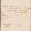 John Ker, Duke of Roxburghe to Mrs. Porter, autograph letter