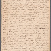 Jane Porter to Selina Davenport, autograph letter (copy)