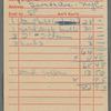 Petty cash receipts for 1973 tour
