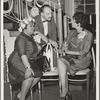 Alma John and Daisy Bates of Little Rock Arkansas