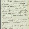 """Sir Robert Wilson to """"Dear Madam,"""" autograph letter signed"""