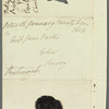 Charlotte Lennox, Duchess of Richmond to Jane Porter, autograph letter signed