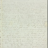 Henry Gill to Jane Porter, autograph letter signed