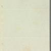 John Garratt to Jane Porter, autograph letter signed