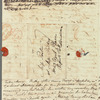 [William Wilberforce?] to Miss Porter, autograph letter