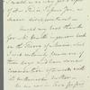 Sir Gore Ouseley to Jane Porter, autograph letter signed