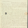 Mary Aloysia Austin Clifford to Jane Porter, autograph letter signed