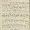 Edward Clive Bayley to Robert Ker Porter, autograph letter signed