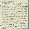 Sir Robert Wilson to Jane Porter, autograph letter signed