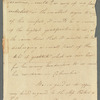 H. O'Callaghan to Mrs. Porter, autograph letter signed
