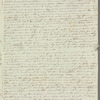 Sarah Belzoni to Miss Porter, autograph letter signed