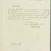 Rudolph Ackermann to Jane Porter, autograph letter signed