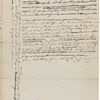 Yates, Abraham, Junr., draft of letter to the Hon'ble James Duane and Ezra L'Hommedieu