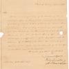 Osgood, Samuel; Livingston, Walter; Lee, Arthur, addressed to Abraham Yates Junr. Esqr., New York