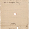 Lansing, Abraham G., addressed to Abraham Yates Junr. Esqr., to the house of Mr. Powers, Poughkeepsie