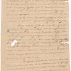 Lansing, Abraham G., addressed to Abraham Yates Junr. Esqr., New York