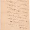 Yates, Christopher P., addressed to the Hon. Abraham Yates Esq., in Congress, New York