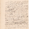 Yates, Abraham, Junr., draft of letter to Aaron Burr