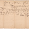 William Denny, Governor of Pennsylvania. Proclamation against selling Whiskey to Indians