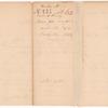 General James Henry, receipt for rum