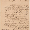 Ensign John Wallington, at Fort Jefferson, to Major John Mills, at Greenville, regarding application for tavern license