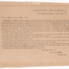General order from the Executive Department, Milledgeville, Georgia to the Justices of the Inferior Court regarding distilled spirits issued by the Confederate State of Georgia