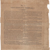 Broadside about making spirits with charcoal and recipes for making cordials. Printed item
