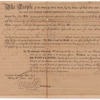 Document appointing John P. Jenkins Inspector of Distilled Spirits in Columbia County, New York