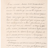Letter from Voltaire at Les Delices to Ami Camp at Lyon