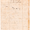 Letter of Samuel Wainwright, at Ipswich, Massachusetts about the scarcity of rum