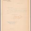 William H. Taft, to Charles F. Chandler, at New York