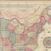 Der amerikanische Continent: topographische und Eisenbahn-Karte der Verein. Staaten, Britischen Besitzungen, Westindien, Mexico und Central-Amerika
