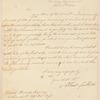 Albert Gallatin letter to David Harris