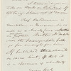 Edward Robinson letter to E.A. Duyckinck