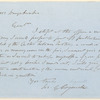Joseph Green Cogswell letter to E.A. Duyckinck