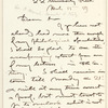 George P. Marsh letter to E.A. Duyckinck