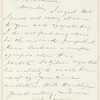 Henry Theodore Tuckerman letter to William L. Andrews