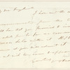 Joel Tyler Headley letter to E.A. Duyckinck
