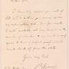 Louis John Rudolph Agassiz letter to C.D. Wilbur